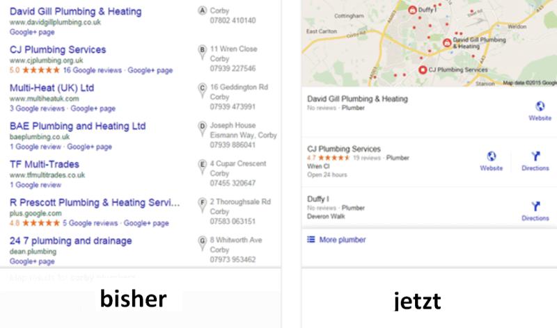 2015.08 Änderung bei Google local search