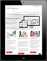 Tablett Klick7 Webdesign