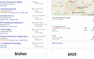 2015.08 Änderung bei Google local search