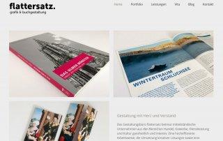 Die neue Webseite von Flattersatz ist online