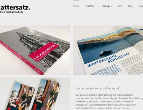 Neue Webseite für Flattersatz