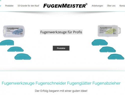 Fugenmeister jetzt mit 2-sprachiger Webseite