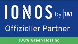 IONOS Logo offizieller Partner