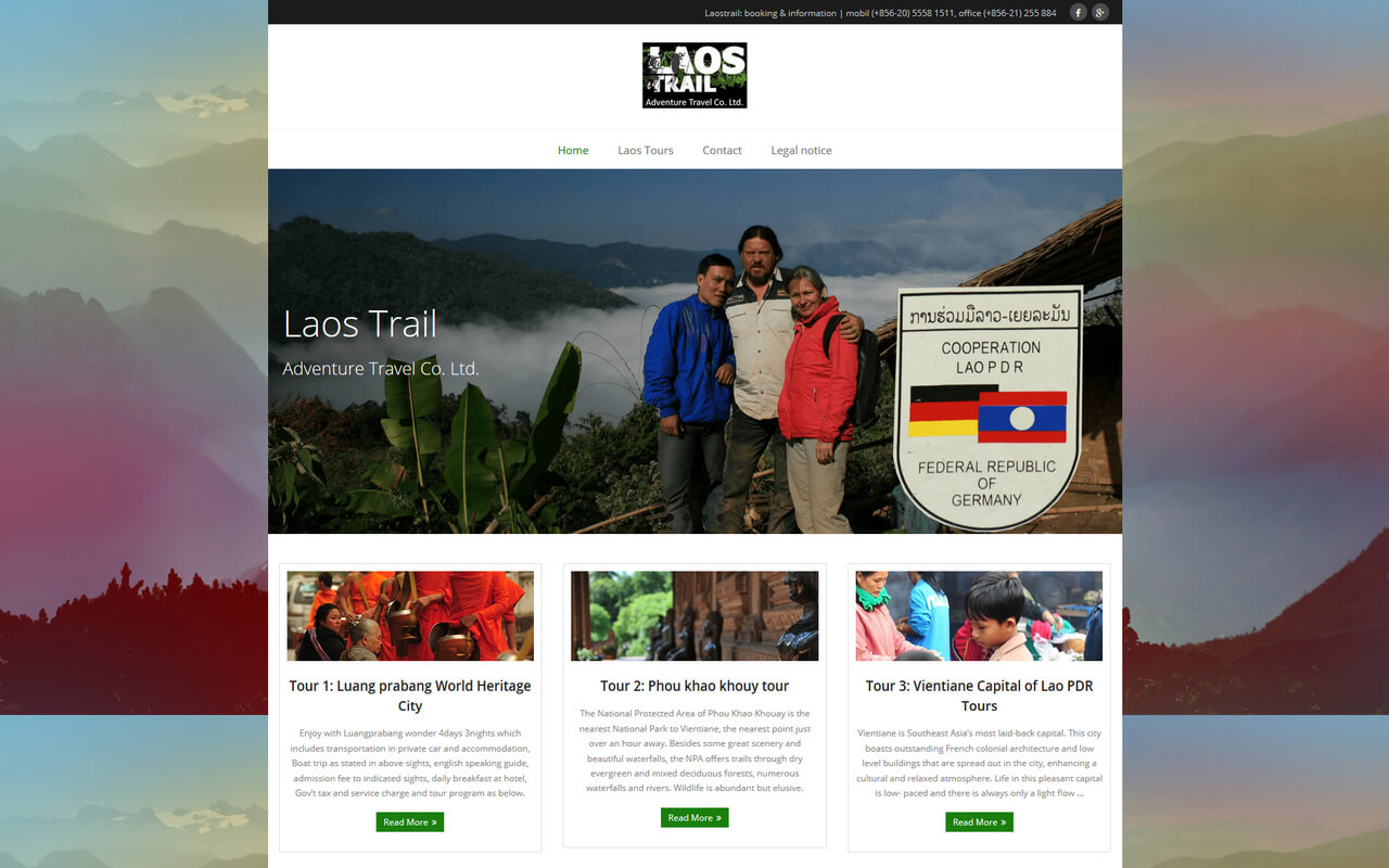 Laos Trail Responsive Design Augsburg