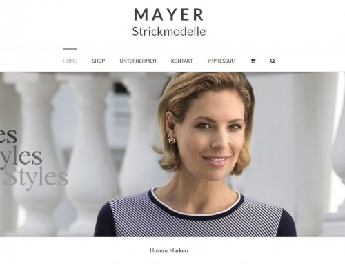 Onlineshop für Mayer Strickmodelle in Bad Wörishofen