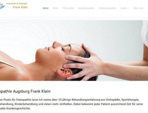 Website für Osteopathie Klein