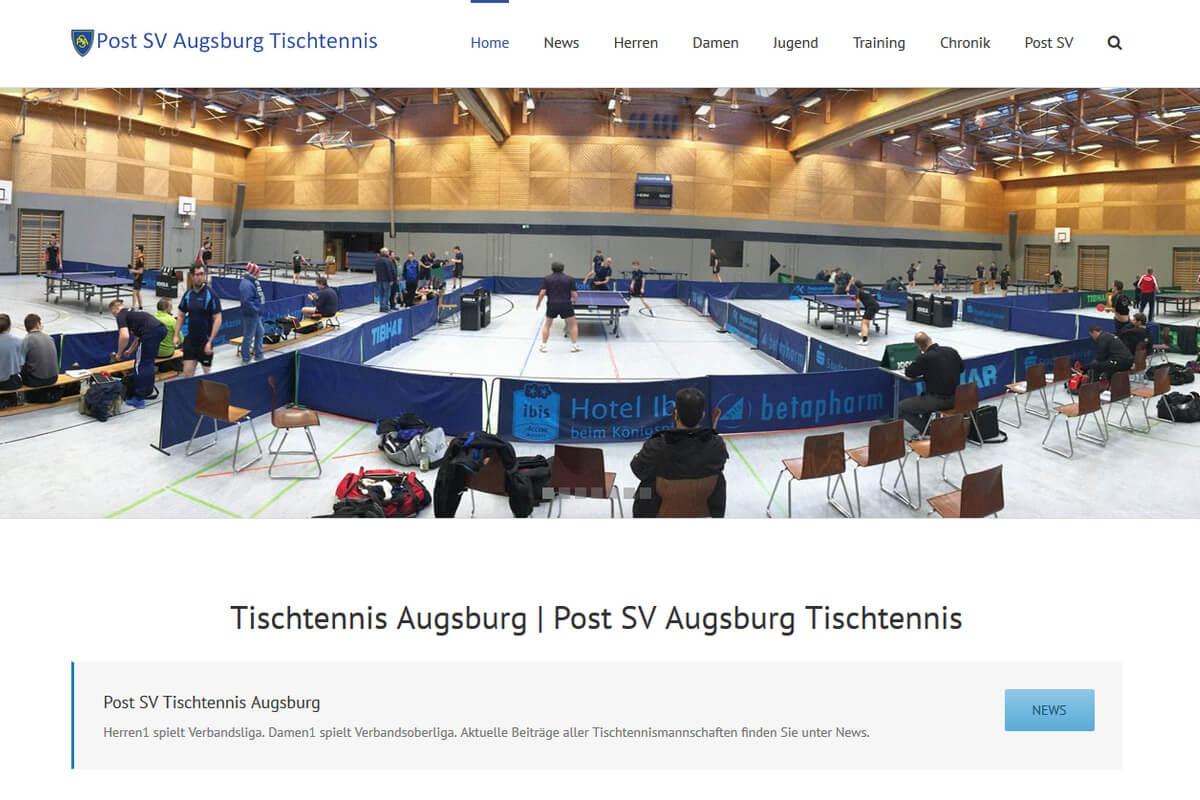 Post SV Augsburg Tischtennis