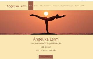 Website erstellen Internetauftritt Unterschleißheim WebseiteResponsive Design Psychotherapie Lerm Unterschleißheim