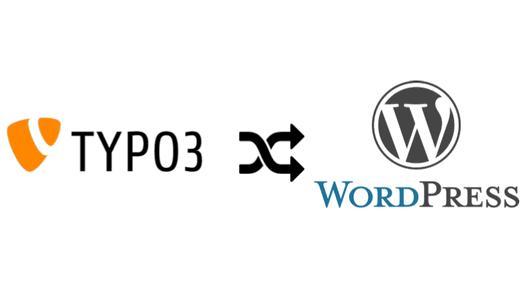 Typo3 Augsburg zu Wordpress
