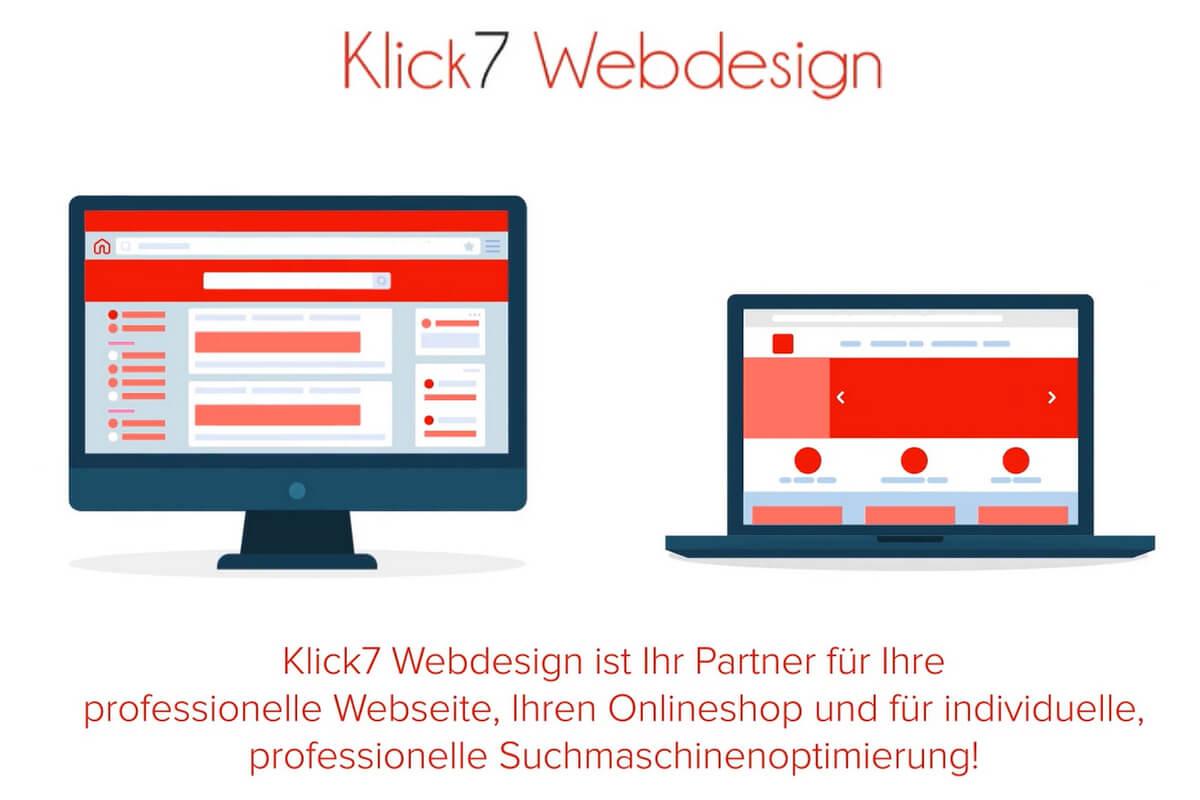 Video Klick7 Webdesign