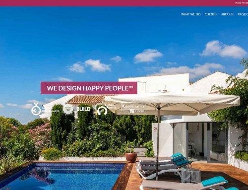 ÜberRaum Architects London – Optimierung der Webseite